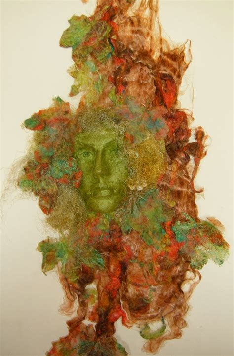 Handmade Silk Paper - gaia by lesley textile