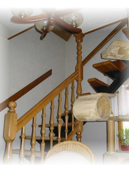 weiße holztreppe eiche dekor treppe