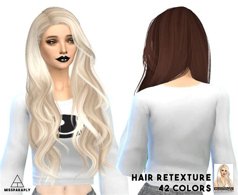cc hair for sism4 my sims 4 blog stealthic hair retexture by missparaply