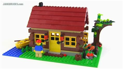 lego log cabin lego creator 5766 log cabin 3 in 1 set review