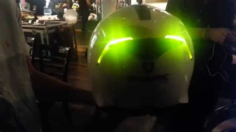 Motorradhelm Led by New Shark Skwal 2015 With Led Lighting Launched