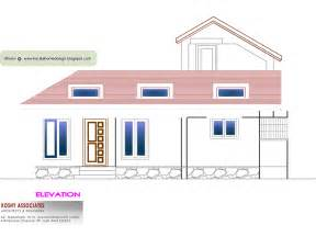 1000 sq ft house plans 3 bedroom kerala style single floor house plan 1000 sq ft kerala home
