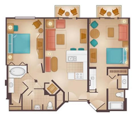 disney beach club villas floor plan beach club villas