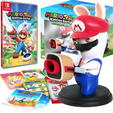 Kaset Nintendo Switch Mario Rabbids Kingdom Battle nintendo switch mario rabbids kingdom battle collector s edition wit shopitree