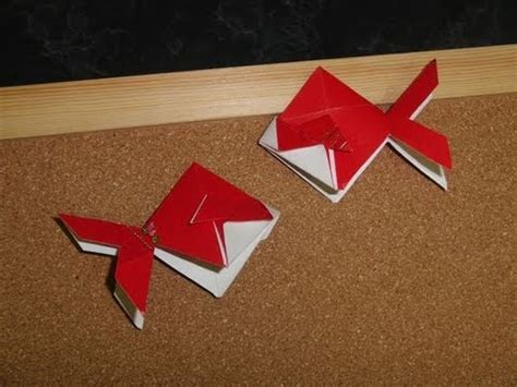 China Origami - daily origami 222 new years ang pow goldfish