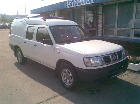 nissan terrano 2006 2006 nissan terrano ii pictures 2 4l gasoline fr or rr