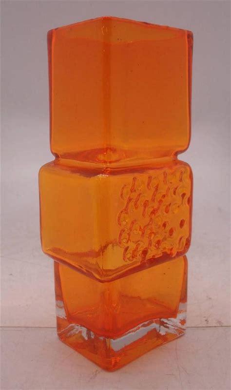 Drunken Bricklayer Vase whitefriars drunken bricklayer glass vase choice of