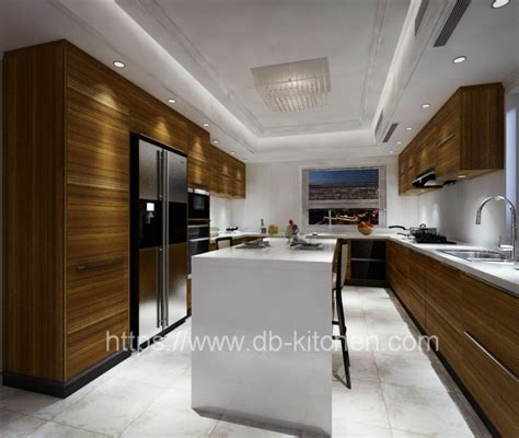 kitchen cabinet supplier china modern wood veneer kitchen cabinet supplier