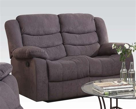 gray velvet loveseat gray velvet motion loveseat jacinta by acme furniture ac51411