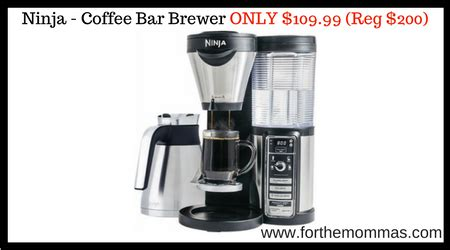 Ninja   Coffee Bar Brewer with Thermal Carafe ONLY $109.99 (Reg $200)   FTM