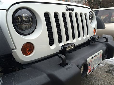 Jw Jeep Jeep Wrangler Jw Speaker 8700 Evo 2 And 6145 Install Fog