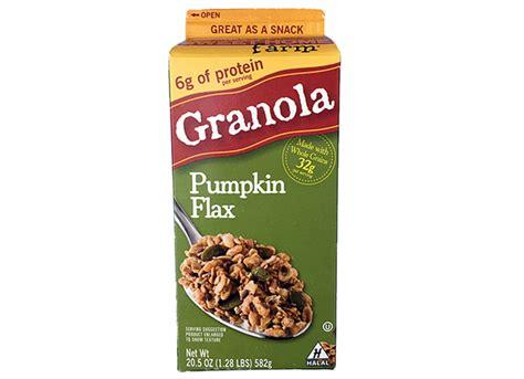 sweet home farm granola pumpkin flax signature market