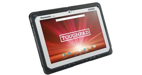 panasonic rugged tablet panasonic toughpad fz a2 is a highly rugged android tablet for a high price android authority