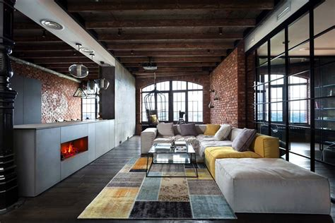 industrial style loft industrial style loft in kiev artfully blends drama and