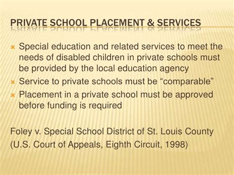 section 504 private schools adsu 6437 chapter 10