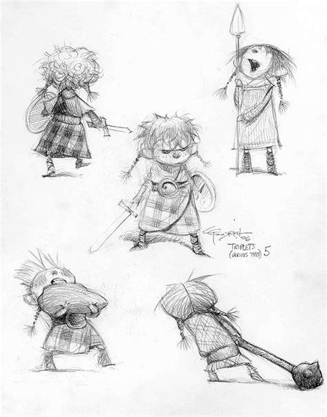 animation layout artist blog brave 11 brave character design carter goodrich
