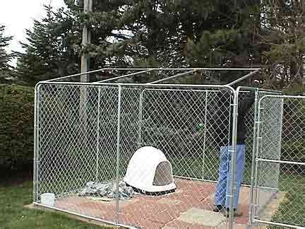 10x10 kennel roof 10x10 kennel cover kit free xtra tarp