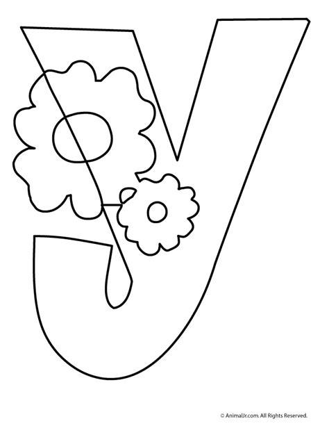 printable letters with flowers bubble letters flower letter y printables pinterest