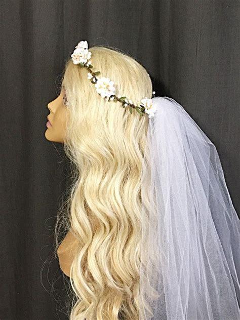 Flower Wedding Veil 25 best ideas about flower crown veil on