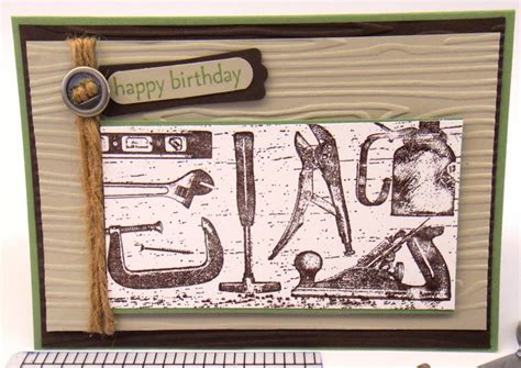 Handmade Mens Cards - handmade happy birthday card mens birthday card for
