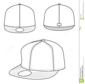 baseball hat template best photos of fitted hat template snapback hat design