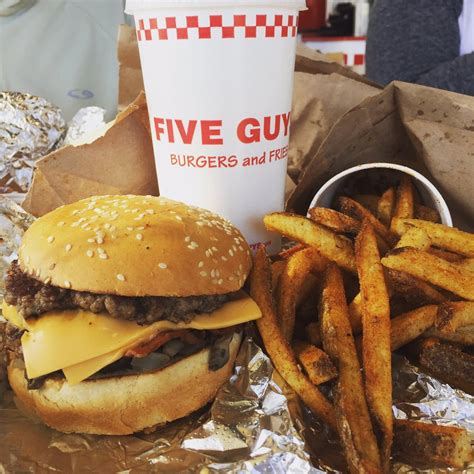 Find five guys burgers near me redmond