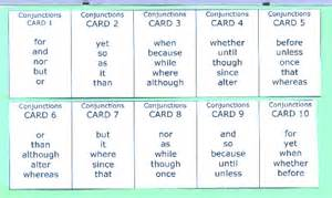 Conjunctions For Essays by Conjunction Words Gallery