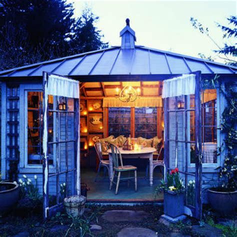 Garden Shed Living Room Turn Your Shed Into A Summer Living Room Or Backyard Den