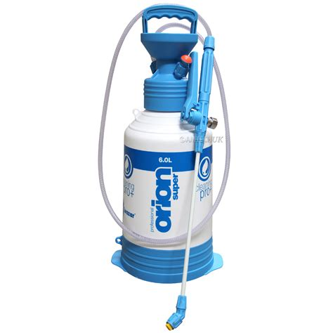 da pump orion orion pro pump up sprayer 6 litre kwazar sprayers