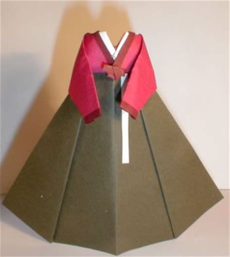 Korean Origami Paper - 25 best ideas about origami dress on diy