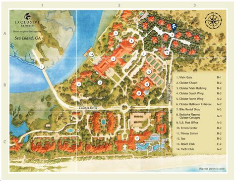 sea resort map daily images from the cat sea island