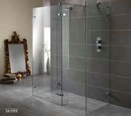 Skyfix amp co ltd walk in shower enclosures screen