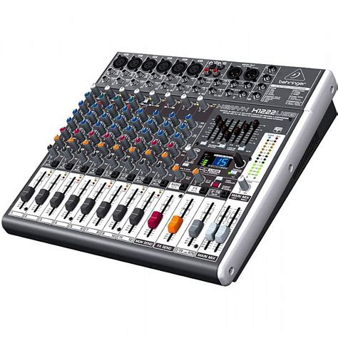 Mixer Audio 16 Channel behringer behringer x1222 usb xenyx 16 channel mixer tracktion 4 audio production software
