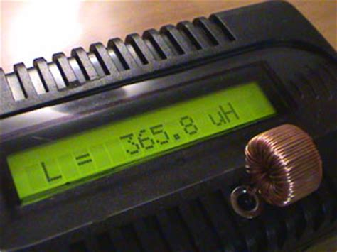 how to measure inductor using multimeter accurate lc meter based on pic16f628a