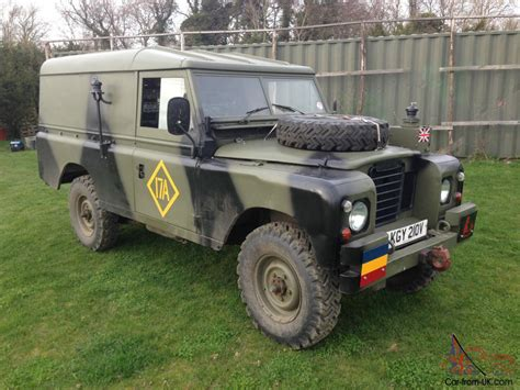 military land rover land rover series 3 ffr 109 quot ex military