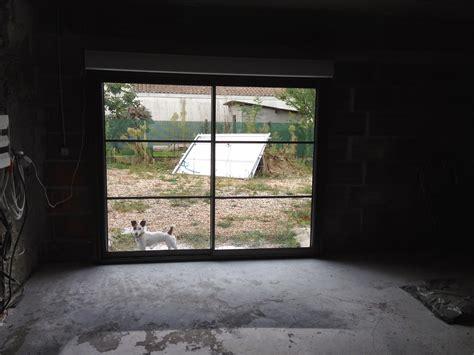 ouverture garage notre projet salon salle 224 manger remplacement porte de