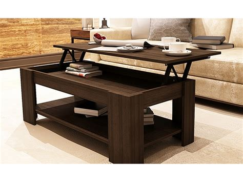 lift up top coffee table caspian espresso lift up top coffee table with storage