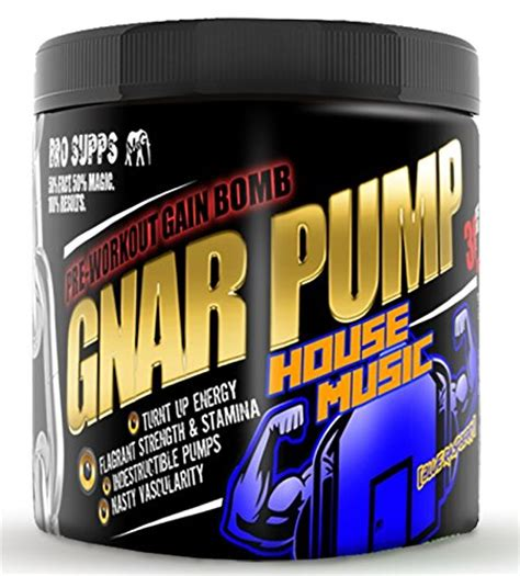 pumping house music gnar pump pre workout gain bomb house music blue raspberry by dom mazzetti 30