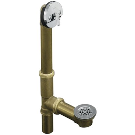 different types of bathtub drain stoppers types of bath tub drains