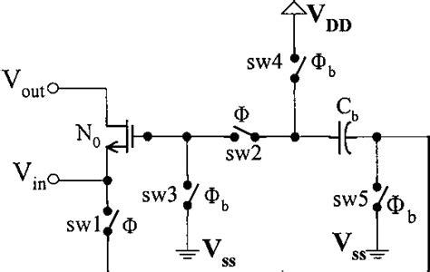 bootstrap circuit principle modified bootstrap switch principle