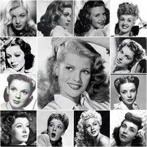 40s 50s hairstyles vintage hairstyles