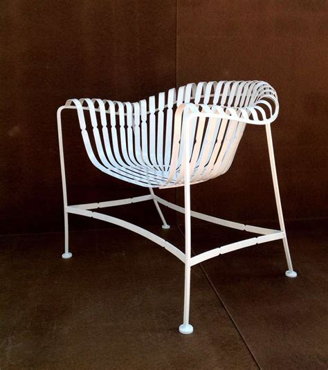 Woodard Patio Chairs Sculptural Woodard Patio Table And Chairs At 1stdibs