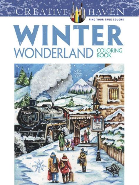 libro the wonder land creative creative haven winter wonderland coloring book by teresa goodridge paperback barnes noble 174