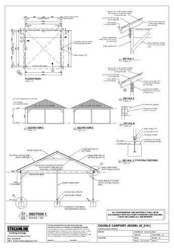 carport plans building carport plans