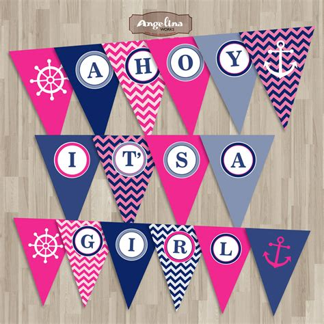 Baby Shower Flag Banner by Lots Of Baby Shower Banner Ideas Decorations