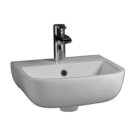 large basin bathroom sink barclay products series 600 large wall hung bathroom sink