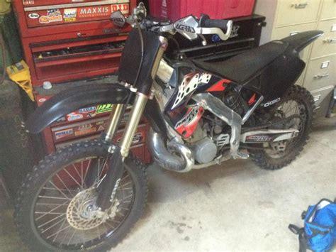 honda crr cr cr  dirt bike   sale   motos