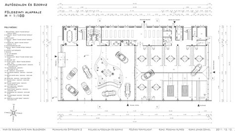 car showroom floor plan a class car showroom and service on behance