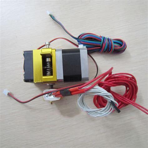 3d Printer Remote Feed J Inlet Port Connector Diskon 3d printer mk8 extruder j hotend nozzle 0 4mm