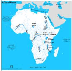 Map Of Africa With Rivers by Pics Photos Rivers African